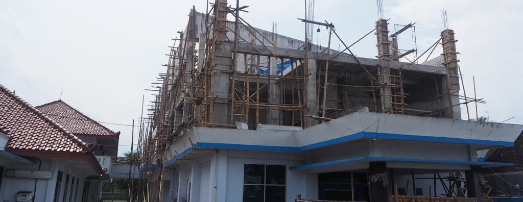 Progress Gedung AKPER